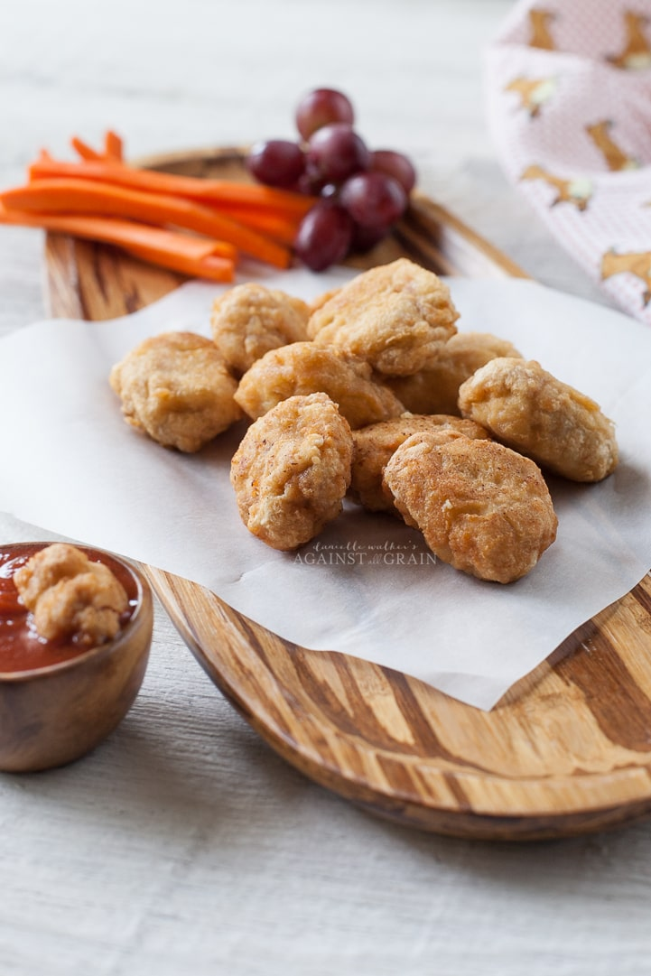Homemade Gluten-Free Chicken Nuggets by Danielle Walker's | Against all Grain