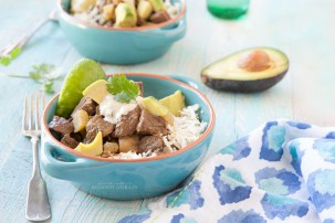 Crockpot Mexican Bison Stew