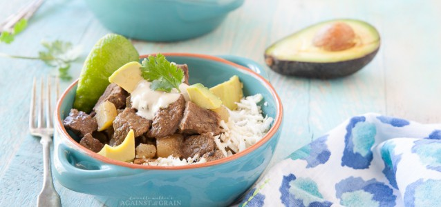 Mexican Bison Stew Against all Grain