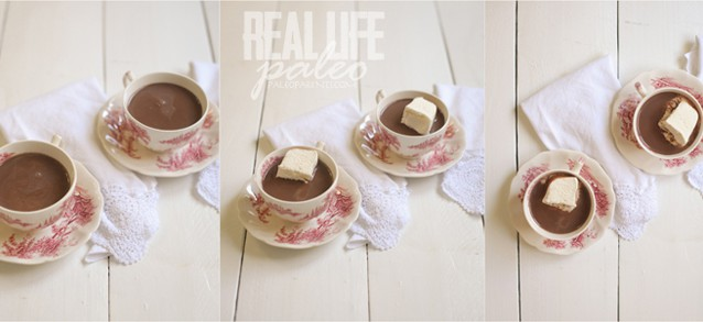 Peppermint Hot Chocolate from Real Life Paleo by Paleo Parents on Against All Grain