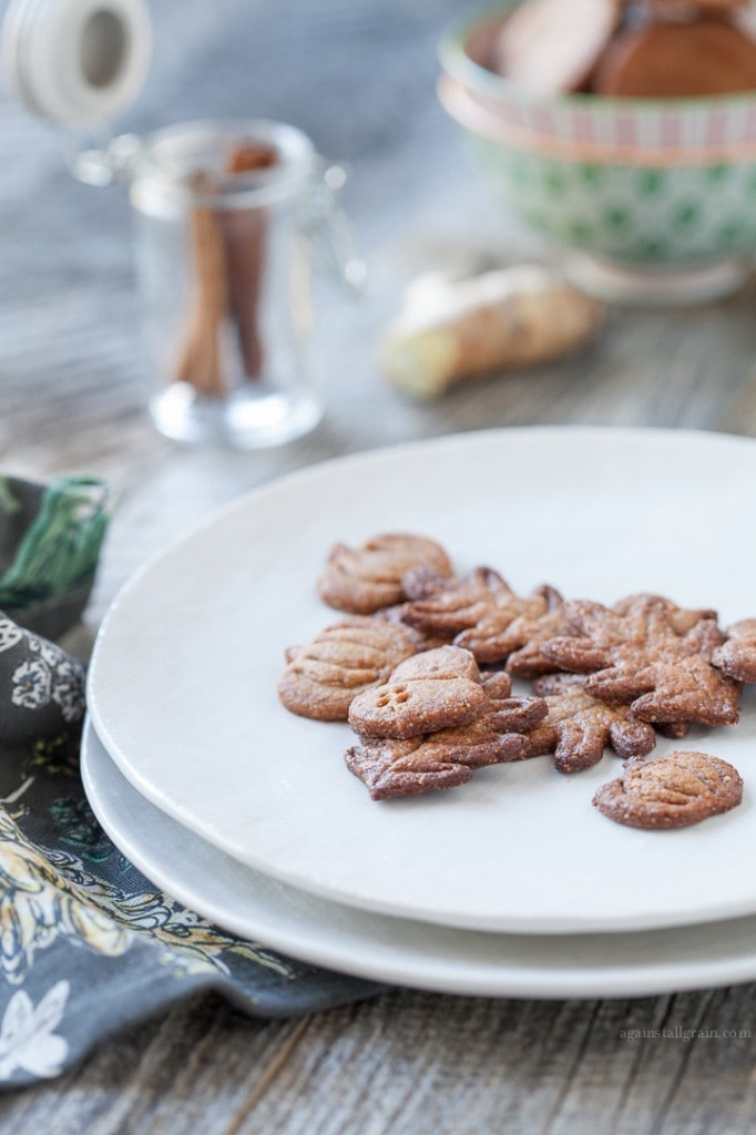 Grain-Free GingerSnaps by Danielle Walkers Against all Grain