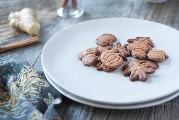 Grain-Free GingerSnaps by Danielle Walker's Against all Grain