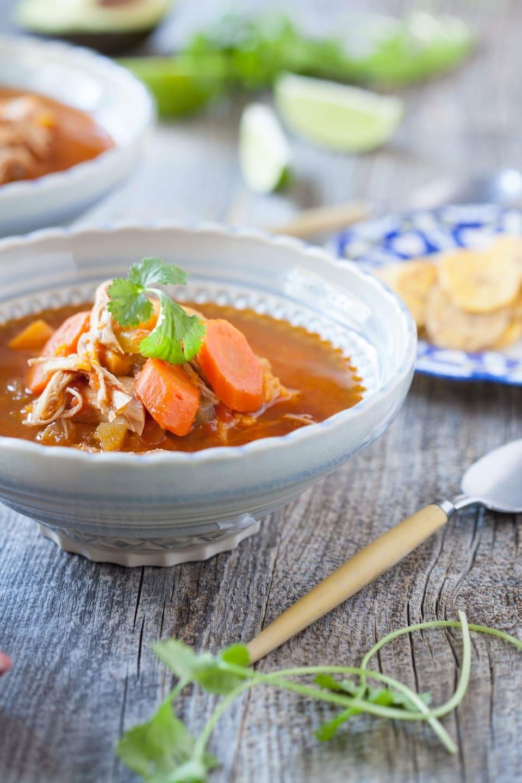 Pressure Cooker Chicken Enchilada Soup | Against All Grain ...