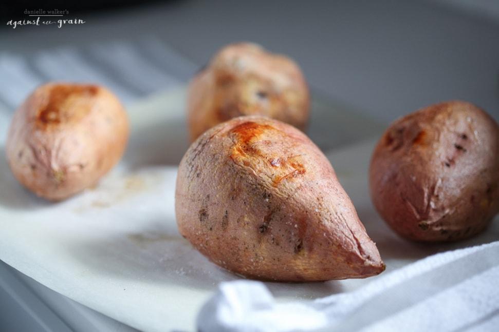 Paleo Enchilada Sweet Potatoes 2 - From Danielle Walker