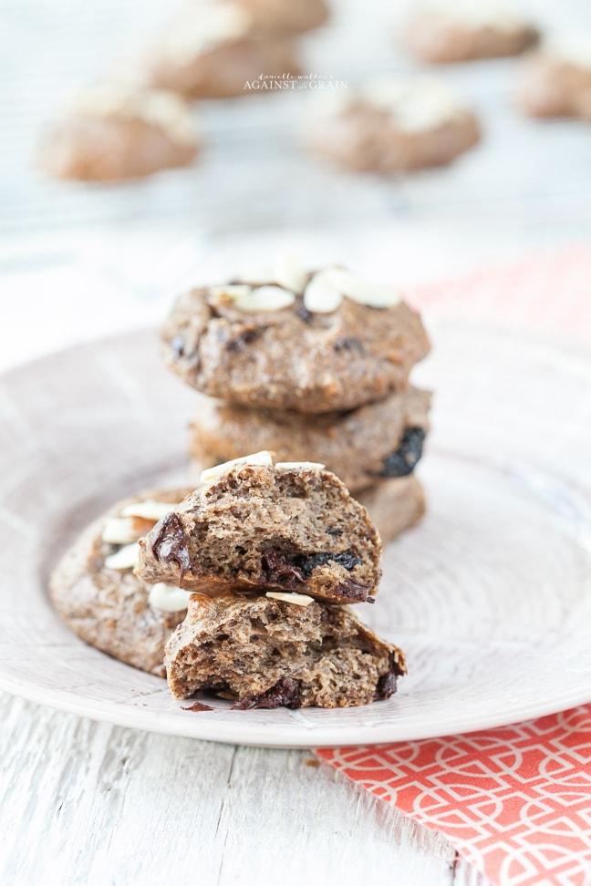 Chocolate Cherry Power Cookies-038
