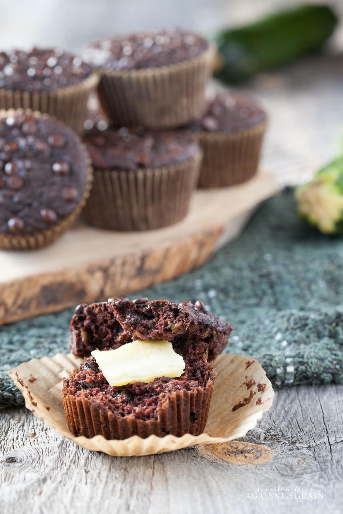 Chocolate_Zucchini_Muffins Vertical