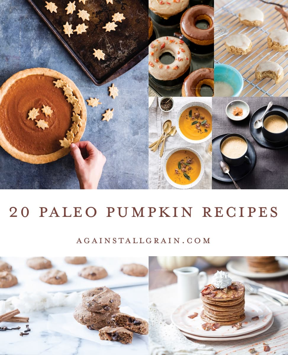 Paleo Pumpkin Recipes - Againstallgrain.com