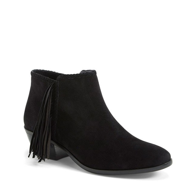 759686db9363c9 Sam Edelman  Paige  Fringed Ankle Bootie (Women) - Against All Grain ...