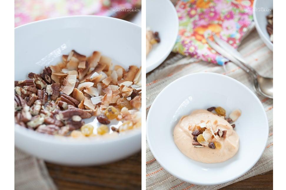 Dairy-Free Carrot Cake Pudding Recipe