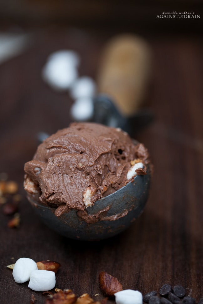 Dairy-Free Mexican Rocky Road Ice Cream from Danielle Walker's Against all Grain