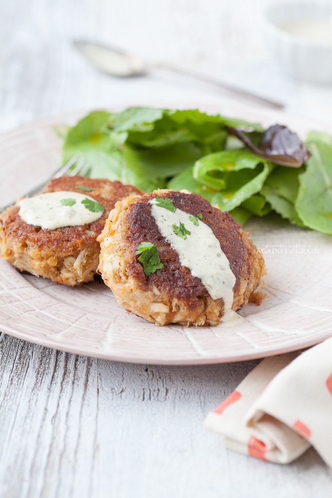 Paleo Crab Cake Recipe from Danielle Walker's Against all Grain