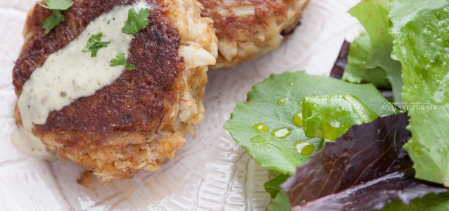 Paleo Crab Cakes from Danielle Walker's Against all Grain