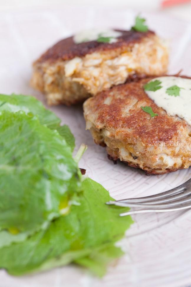 Gluten-Free Crab Cakes Recipe from Danielle Walker's Against all Grain