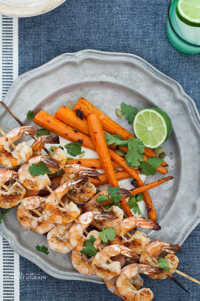 Paleo Tequila Lime Shrimp | Danielle Walker's Against all Grain