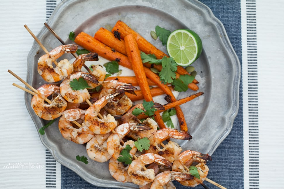 Paleo Tequila Lime Shrimp by Danielle Walker's Against all Grain