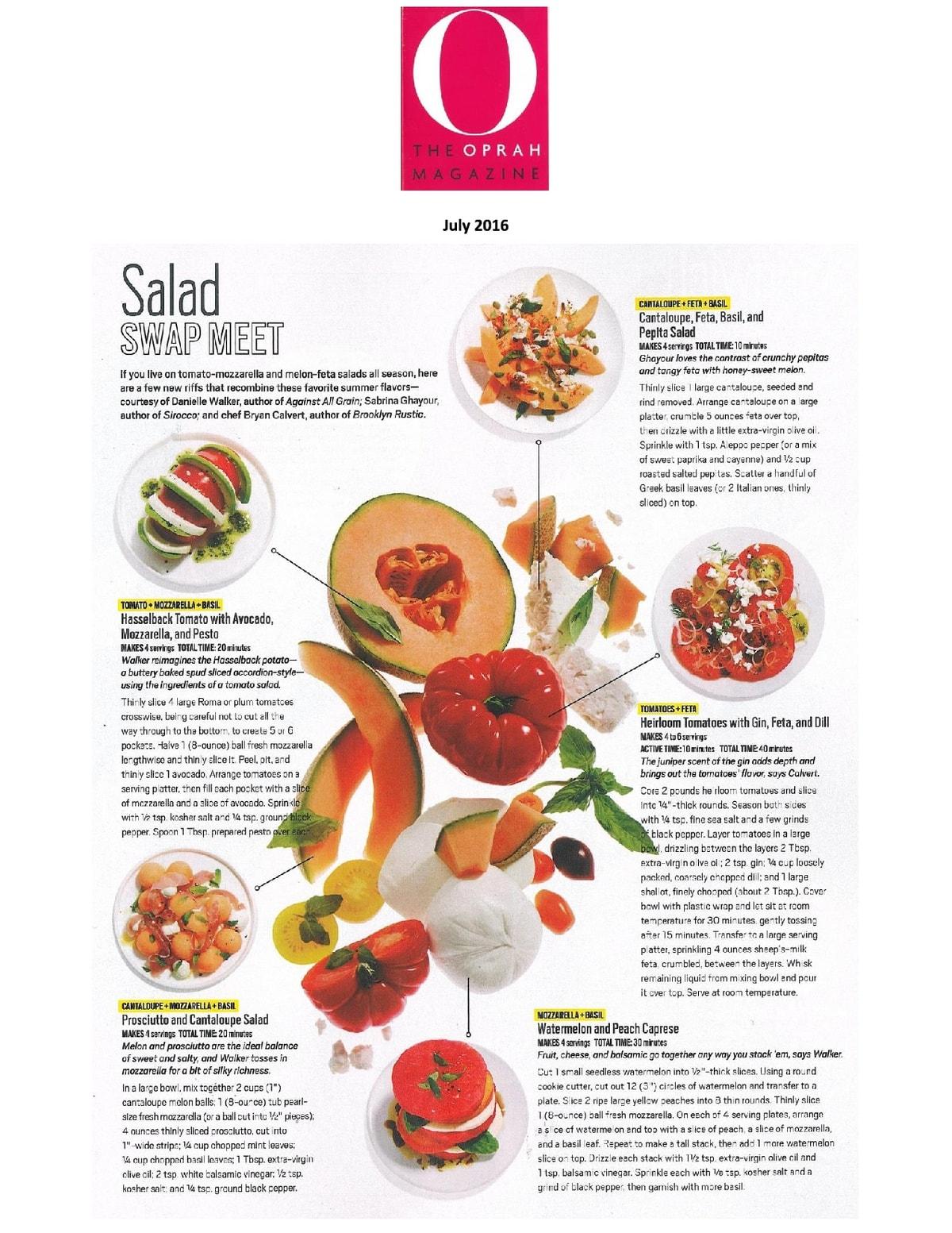 O Magazine July 2016