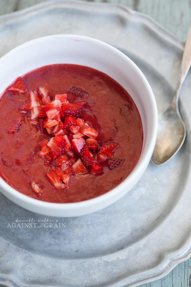 Paleo Strawberry Sauce | Danielle Walker's Against all Grain