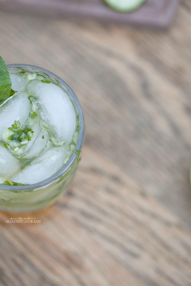 Paleo Cucumber Cilantro Margarita | Danielle Walker's Against all Grain