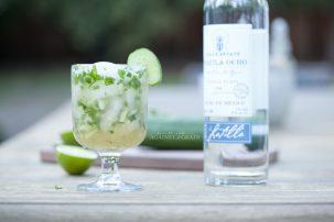 The Spa-garita: Cucumber Cilantro Margarita
