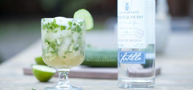 Paleo Cucumber Cilantro Margarita - Danielle Walker's Against all Grain