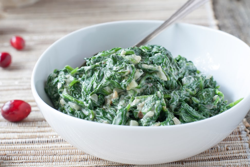 creamed-spinach