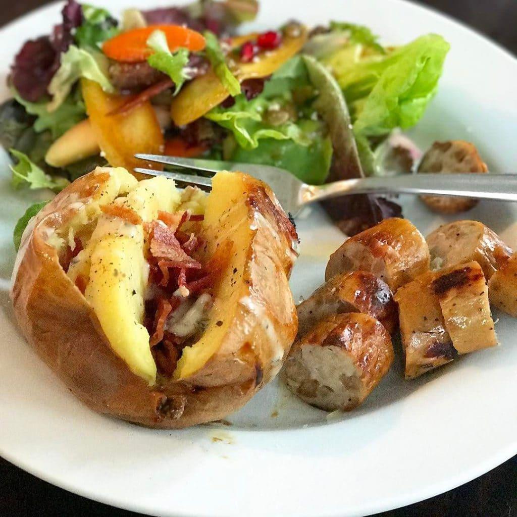 Sweet Potato and sausage