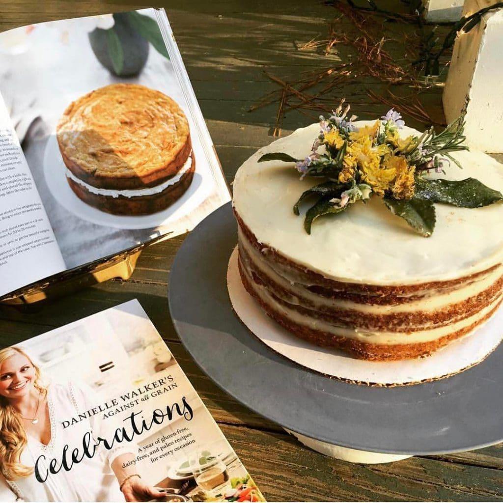 carrot cake from reader
