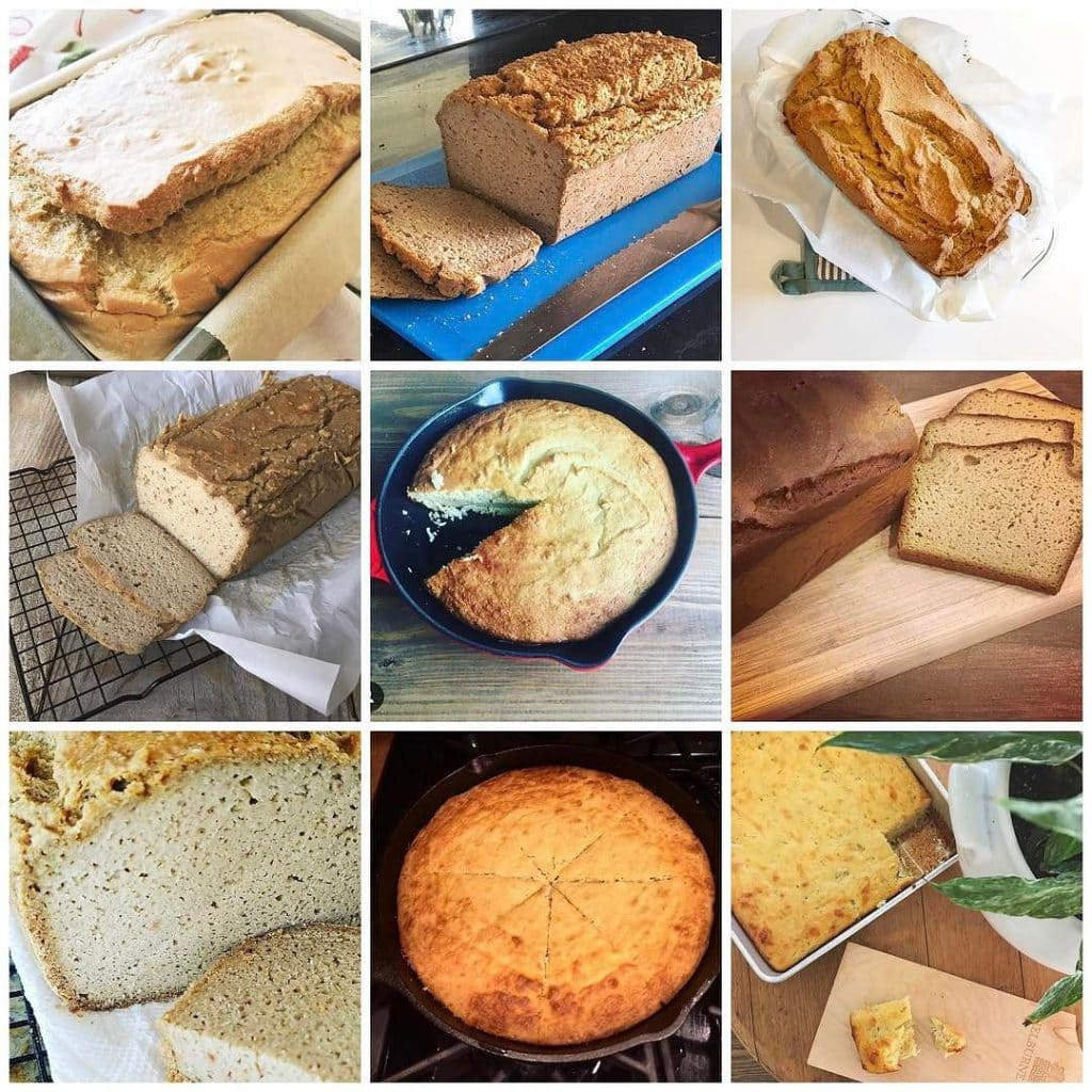 corn bread and blender bread followers