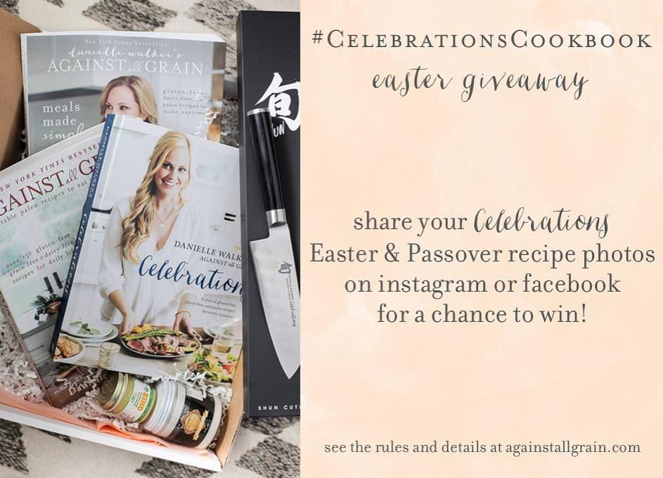 cookbook easter giveaway