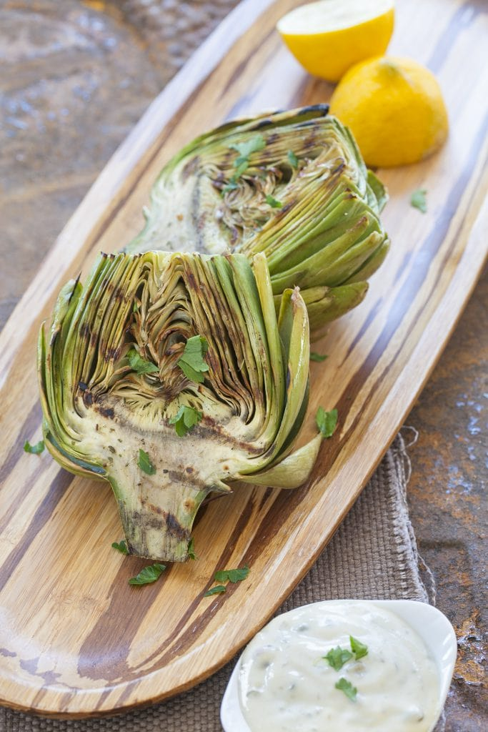 Grilled_Artichokes