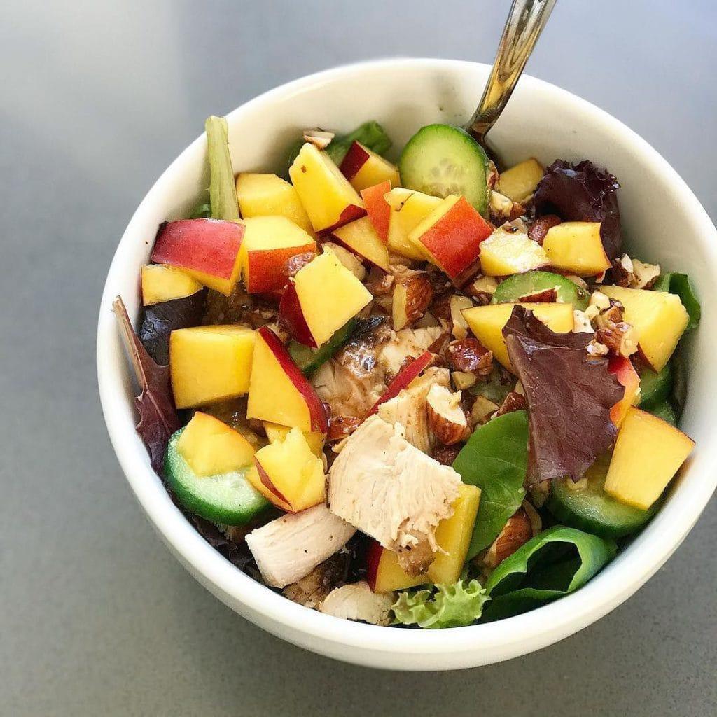 New mom salad