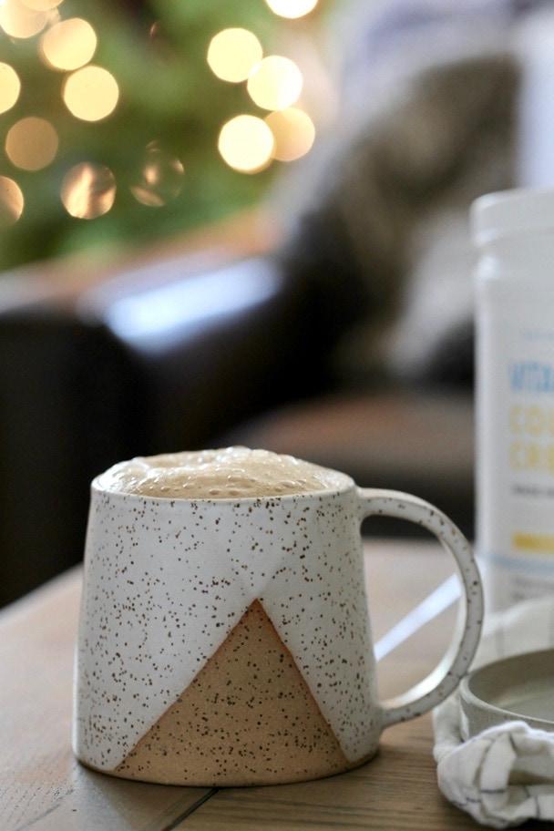 Dairy-Free Egg Nog Latte 4 | Danielle Walker Against all Grain