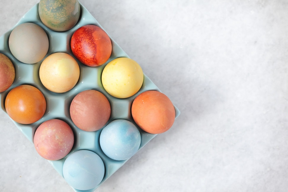 Naturally Dyed Easter Eggs Recipe Against All Grain Delectable