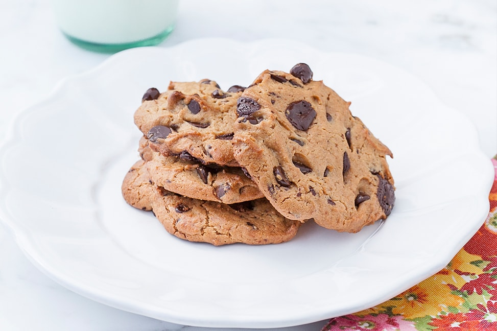 Nut Free Chocolate Chip Cookies