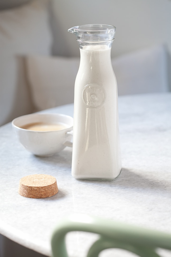Dairy Free Vanilla Coffee Creamer
