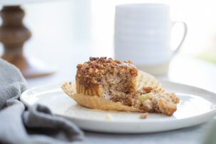 Gluten-Free Spiced Apple Crumble Muffins Recipe
