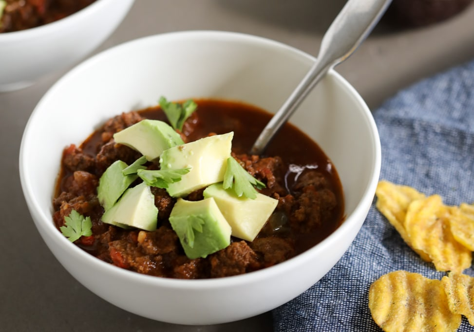 Instant Pot Option Chili Recipe Gluten Free Whole30 Against All Grain Delectable Paleo Recipes To Eat Feel Great