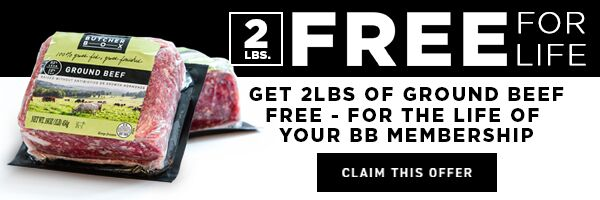 ButcherBox sponsored this post and the free gift with each box.