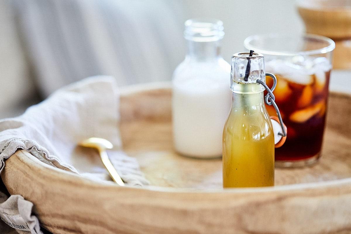 Vanilla Honey Simple Syrup