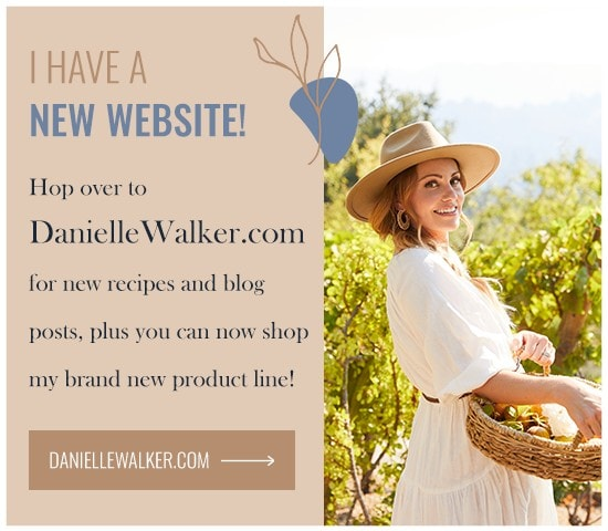 daniellewalker.com promotional graphic